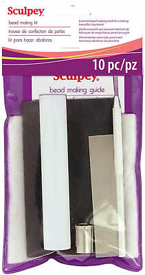 Sculpey Bead Making Kit Essential Tools For Beads & Embellishments Polymer Clay