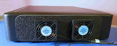 DirecTV HR34 DVR Cooling System with thermoswitch & multispeed control