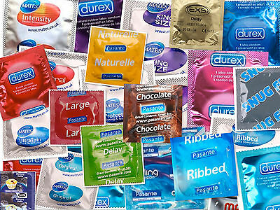 10 X PICK N MIX CONDOMS Variety - CE & KITE MARKED GENUINE Seller Go Experiment