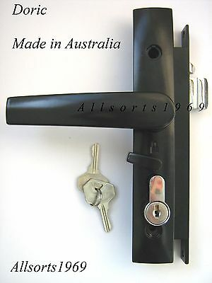 Security screen door lock Doric 2000 series With or Without key cylinder