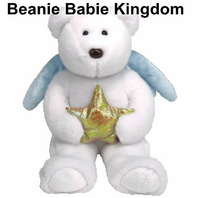 "Ty  Beanie Buddy * STAR *  Teddy Bear Buddie 14"" Gold Star"