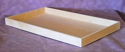 Natural Wood Jewelry Tray New