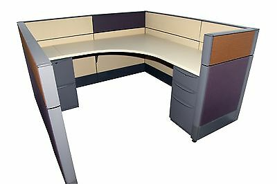 Haworth Premise 6'x6' Office Cubicles / Workstation Office Furniture