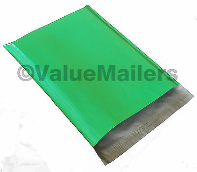 1000 9x12 Green Poly Mailers Shipping Envelope Couture Boutique Quality Bags