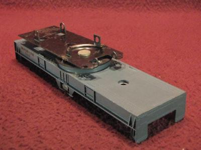 S American Flyer Diecast Metallic Blue Gray Chassis From 944 Crane Car