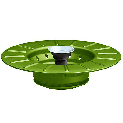 Tovolo Collapsible Sink Stopper & Strainer, Spring Green