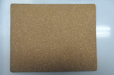 Neoprene Cork Sheet - 300mm x 240mm x 10mm A4 SIZE FREE POST