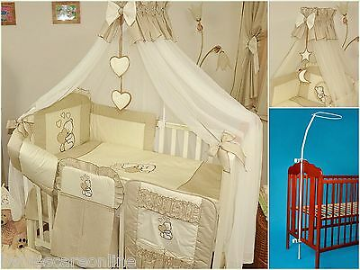 Luxury  Canopy Drape +Canopy Holder / Rod 4 Baby Cot/cotbed