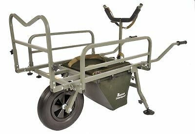 Prestige Carp Porter NEW MK2 Puncture Proof Fishing Barrow + Middle Bag & Cover