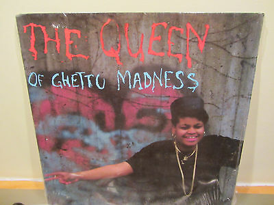 "The Queen Of Ghetto Madness - Run The Rhythm - Us 12"" - Hip Hop - Rare 1990"