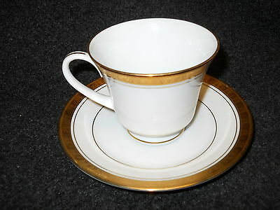 Noritake Legacy Gold Cup and Saucer