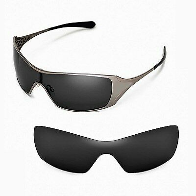 New Walleva Polarized Black Replacement Lenses For Oakley Dart Sunglasses