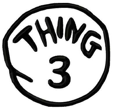 Thing 1 Thing1 T Shirt Iron On Transfer 2
