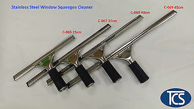 Commercial Squeegee Window Glass Blade Wiper Cleaner Cleaning Tool 35cm to 45cm