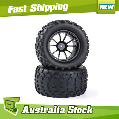 08071 Black Wheel Complete HSP RC Buggy 1/10