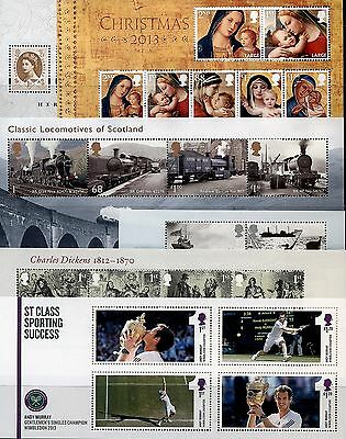 GB 2012 - 2017  Miniature Sheets ( Multiple Listing ) mnh
