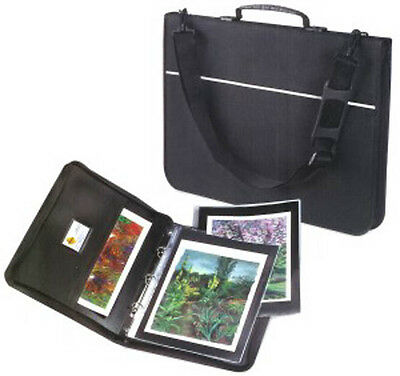 Mapac Quartz A4 Portfolio + Sleeves : Choose empty or with 5, 10, 15, 20 Sleeves