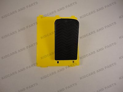 PEG PEREGO 12 VOLT ACCELERATOR PEDAL PLATE WITH SWITCH **BRAND NEW