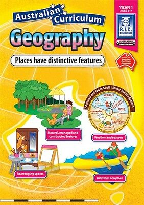 Year 1 Places have Distinct Features Aust Curriculum Geography BNew Teacher Res