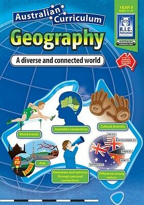 Year 6 Diverse & Connected World Aust Geography BNew Teacher Resource BLM