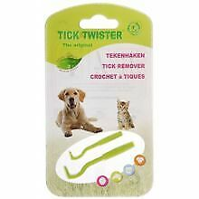 Tick Twister Tick Removal Tool Dog Cat Pet Health Reusable Safe Quick Pain Free