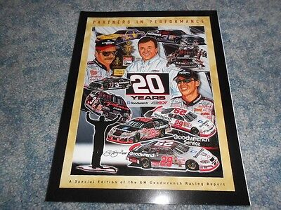 Gm Goodwrench Racing Report Special Edition Partners In Performance 20 Years