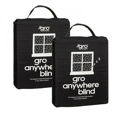 Gro Anywhere Blind - Grobag Portable Black Out Blind - TWIN Pack!