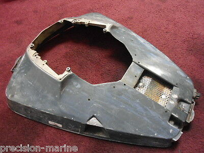 314837 Lower Motor Cover, 1969 Evinrude 85hp Model 85ESL69E