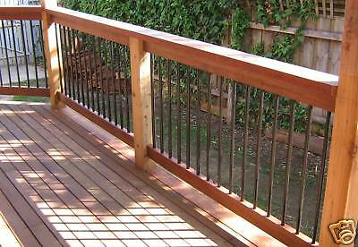 96 pieces Classical Handrail Balustrade/ balusters for Unique Decks