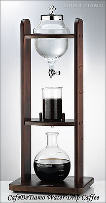 Tiamo HG6360 Cold Drip Coffee Maker 8-10 Cups Heat Resistant Glass Single Tower