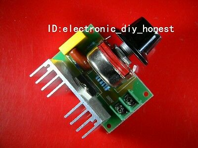 4000W high-power thyristor voltage regulator dimming thermostat speed control