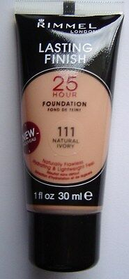 RIMMEL LASTING FINISH 25 HOUR FOUNDATION -various colours
