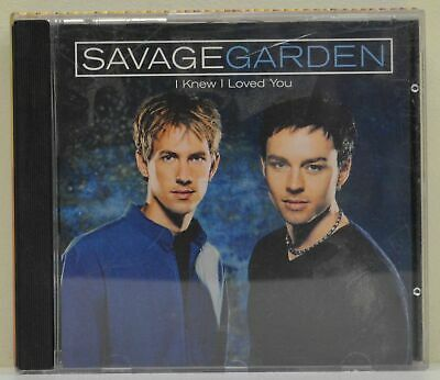 Savage garden 2 track cd single i want you 1995 for I knew i loved you by savage garden