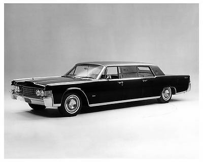 1965 Lincoln Continental Lehmann Peterson Limousine Factory Photo ub5261-ZC14RF