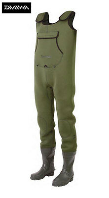 New Daiwa Neoprene Chest Waders All Sizes Available