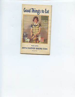 "1933 ""good Things To Eat"" Recipe Booklet By Arm & Hammer Baking Soda (33 Pages)"