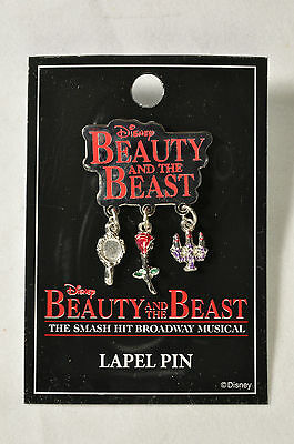 Beauty And The Beast Broadway Souvenir  Lapel Pin - Terrence Mann
