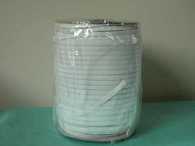 """Elastic Knitted 1/4 """" inch White 288Yards /Roll ~Free Shipping"""