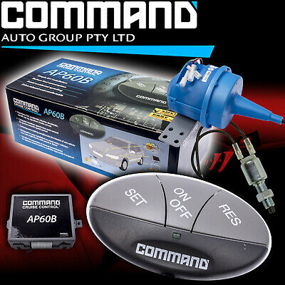 Cruise Control Diy Kit Command Universal Fit Suit Manual Vehicles Ap60 + Switch