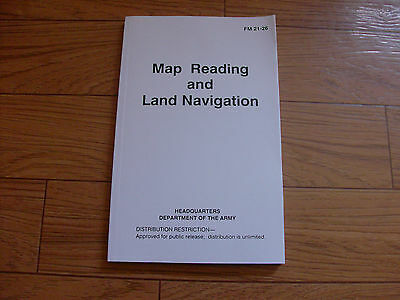 U.S DEPARTMENT OF THE ARMY MAP READING AND LAND NAVIGATION HANDBOOK