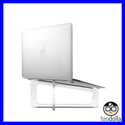 TWELVE SOUTH GhostStand/Ghost Stand, Transparent Designer Desktop Stand, MacBook