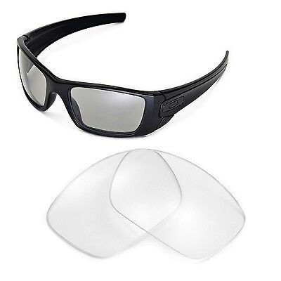 New Walleva Clear Replacement Lenses For Oakley Fuel Cell Sunglasses