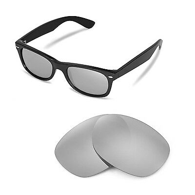 42fd9b988c New Walleva Polarized Titanium Lenses For Ray-Ban Wayfarer RB2132 52mm