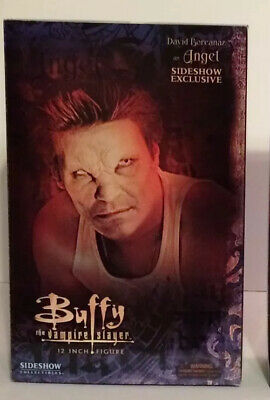 "Vampire Buffy & Vampire Angel - BTVS - Sideshow Collectibles - 12"" Figures - NIB"