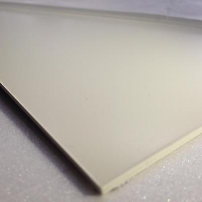2mm White Smooth ABS Sheet A3 420 x 297 Acrylonitrile Butadiene Styrene Sheet