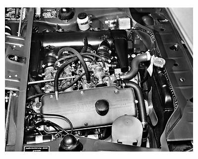 1969 ? BMW 2002 ti Engine Factory Photo uc7777