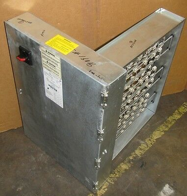Tutco 17H1 Dhc6185-31.0-3P 460V 3Ph Duct Heater W/ Integral Limit Controls New