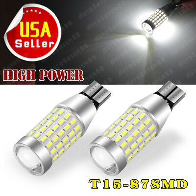 10 X white 5630 24SMD LED Interior Dome Trailer Car RV Light Panel+T10 W5W 1156