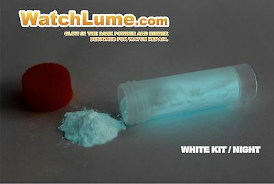 White Glow In The Dark Paint Watch Lume™ Luminous Paste Kit Lume For Watch Hands