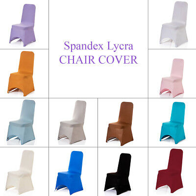 100 Spandex Chair Cover Lyrca White/black Covers Banquet Wedding Reception Party